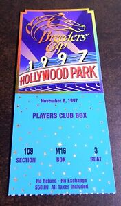 1997-BREEDERS-CUP-PLAYERS-CLUB-BOX-SEAT-TICKET-RARE-ONLY-ONE-LISTED-ON-EBAY