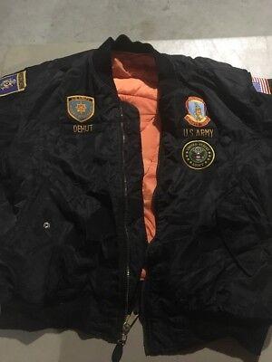 84a77706c6f Custom Military bomber Nylon insulated Flight Jacket