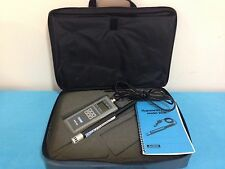 ALNOR APM360 MULTI-PURPOSE METER APM 360 With Hygrometer Probe Model 220B
