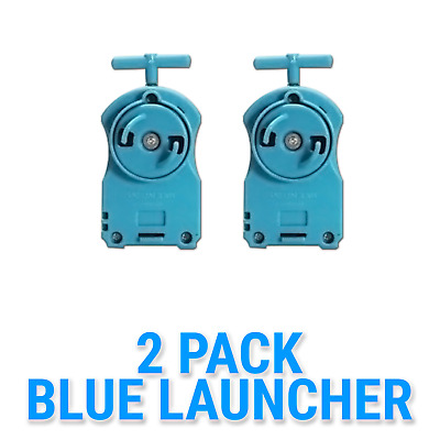 Parts Beyblade 2 Pack BB-17 Blue String Launcher Tips Gift Card Pack