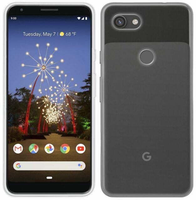Cellulare Accessori Per Google Pixel 3A Custodia Protettiva Silicone Trasparente