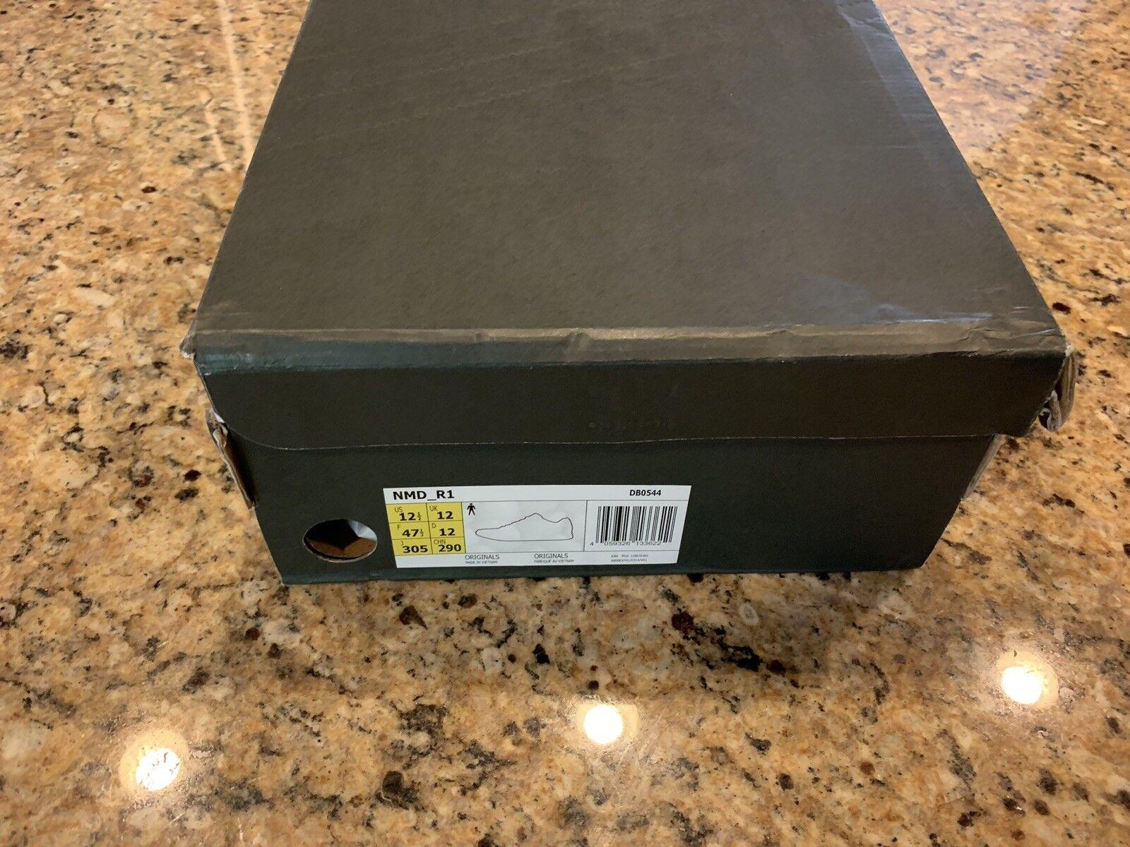 Adidas nmd r1 - schwarz - r1 grau der maschenweite 12,5 db0544 euro selten 48aa05