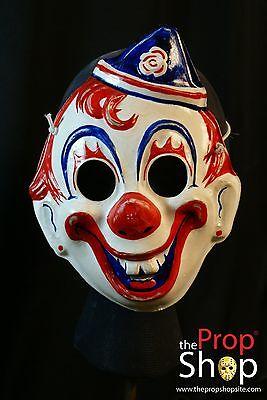 Psychopath Mask Movie Prop Replica Clown Michael Halloween Myers Costume Horror