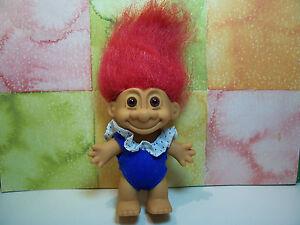 "SWIM / BATHING SUIT - 5"" Russ Troll Doll - NEW - Red Hair"