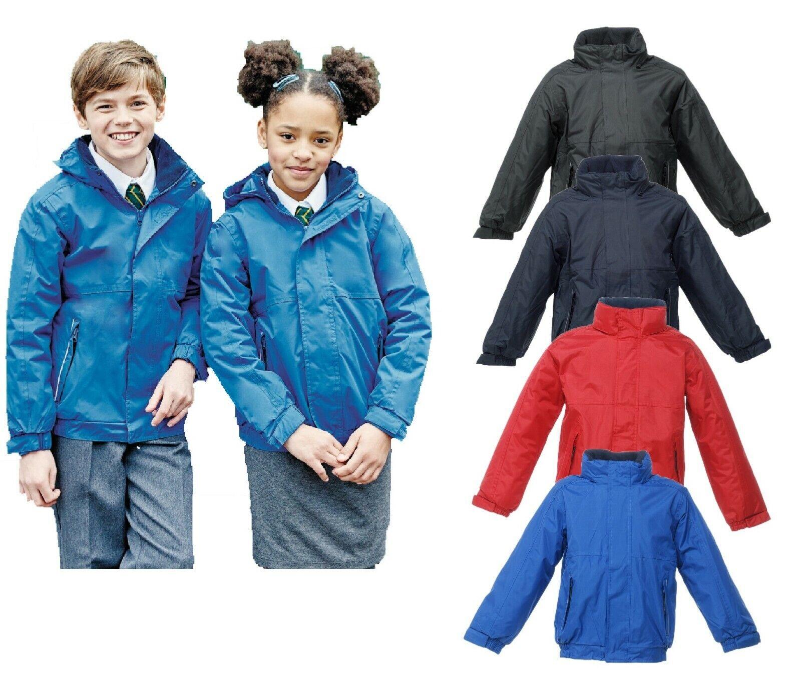 Schoolwear Casual Regatta Kid/'s Dover Jacket Waterproof Girl/'s Boy/'s Coat