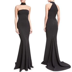 ballo lungo Abito abito party Mermaid vestito da nero senza da xAEw04