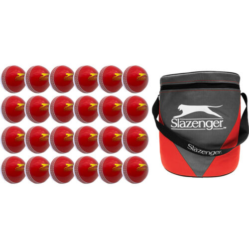 Slazenger Training Cricket Ball Pack Junior or Senior