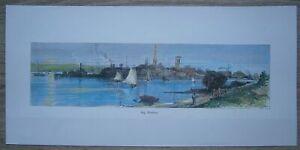 1872 Bryant print SAG HARBOR, LONG ISLAND, NEW YORK STATE (#248)