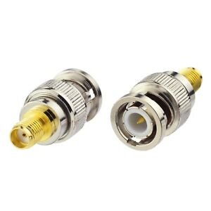 16-Pack-SMA-Female-to-BNC-Male-Connector-Adapter-for-Two-Way-Ham-Amateur-Radio