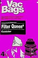 Vacuum Cleaner Bags For Fliter Queen Canister Cones 12 Pcs 3 X 4 Packages