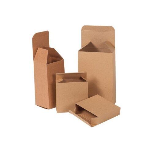 "Kraft /""Kraft Reverse Tuck Folding Cartons 5 1//4/""/""x2 1//4/""/""x5 1//4/""/"" 250//Case/"""
