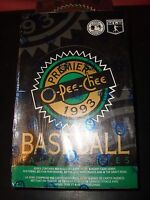 1993 O-pee-chee Premier Baseball Card Factory Sealed Wax Box 36 Packs Blow Out