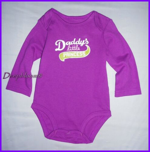 CARTER/'S OUTFIT BODYSUIT LONG ONE PIECE BABY GIRLS NB 3 6 9 12 18 24 MONTHS NEW