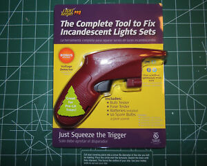 Fix Christmas Lights.Details About New Light Keeper Pro Gun Comp Repair Tool Fixing Holiday Christmas Lights Sets