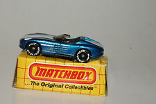 MATCHBOX #MB15 SUNBURNER EXOTIC CONVERTIBLE, BLUE, NEW IN BOX