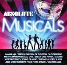 2 CD Absolute Musicals Musical Mamma Mia Chess Phantom