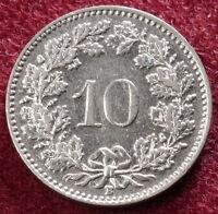 Switzerland 10 Rappen 1939 (A1111)