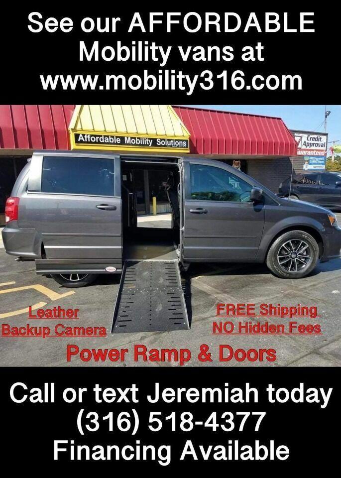 2017 Dodge Grand Caravan Wheelchair Mobility Handicap