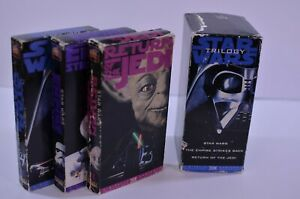 Star-Wars-Trilogy-Vintage-VHS-Tapes-THX-Digitally-Mastered