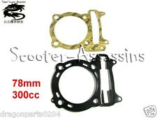 300cc (78mm)   HEAD + BASE GASKET SET for KYMCO Ego/Bet & Win/Euro 2 YUP