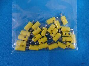 Marklin Plugs Yellow 25 pieces