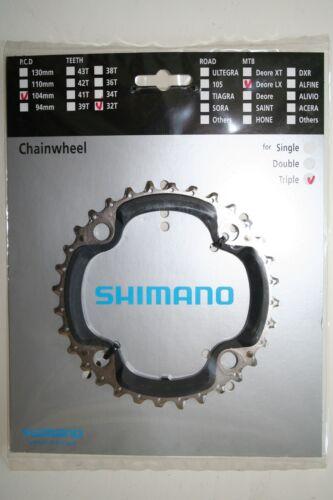Kettenblatt Shimano Deore LX FC-M 660  32 Zähne silber Neu