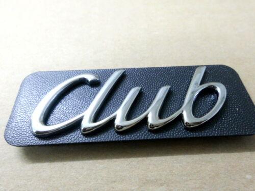 """Emblem /""""club/"""" moldura delantero Opel Astra F 90510817//171388 original Opel"""