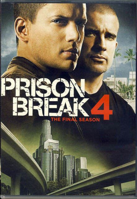 Prison Break Season 4 0024543589242 Dvd Region 1
