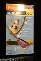 Hartz Ultra Guard Pro Flea & Tick Treatment For Dogs & Puppies 31-60 Lbs