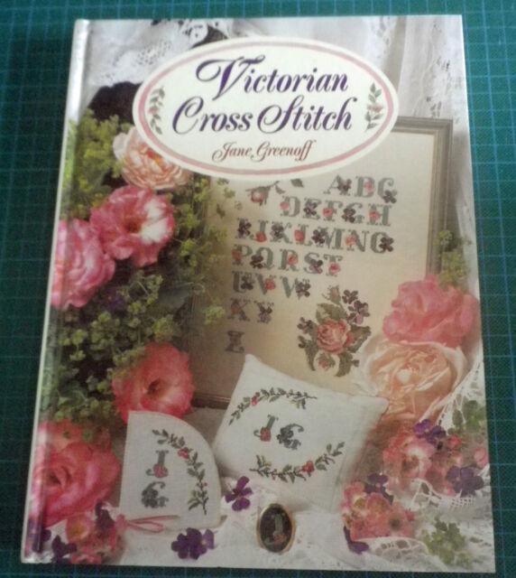 Victorian Cross Stitch by Jane Greenoff (Hardback)