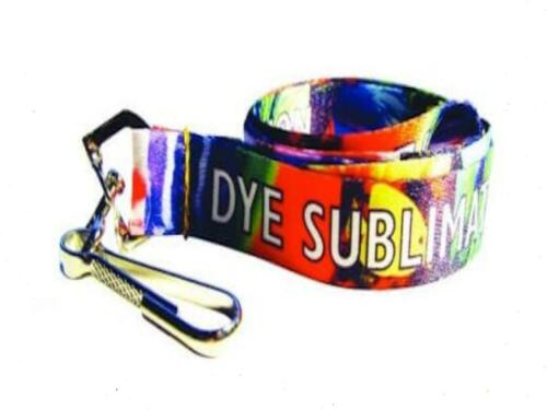 """100 Custom Printed 5//8/"""" High Quality Full Color Lanyards with Your Logo //Message"""