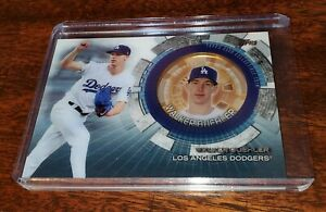 WALKER BUEHLER 2020 TOPPS UPDATE COMMEMORATIVE COIN #TBC-WB LA DODGERS #WS CHAMP
