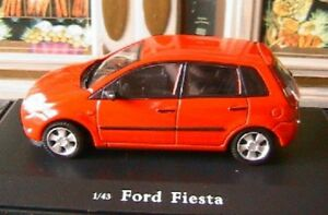 f5075d1b688 Details about FORD FIESTA OLIEX NEUVE 1/43 ROUGE RED USA AMERICA NEW  CARARAMA ROSSO ROT