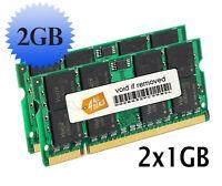 2gb (2x1gb) Memory Ram For Ibm Lenovo Thinkpad R52, 73p3845 Notebook Series Ddr2