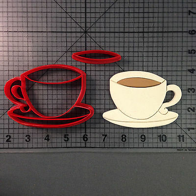 Coffee Cup Cookie Cutter Set