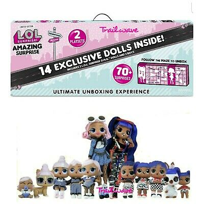 LOL AMAZING SURPRISE 14 Exclusive Dolls Winter Disco OMG Tots Lils Pets Preorder