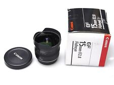 Canon EF 15 mm F/2.8 Fisheye BOXED