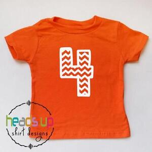 Image Is Loading 4th Birthday Shirt Boy Girl Fourth Bday Tee