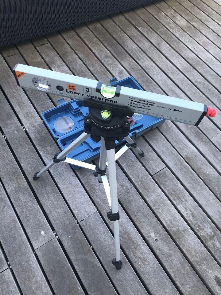 Laser vaterpas