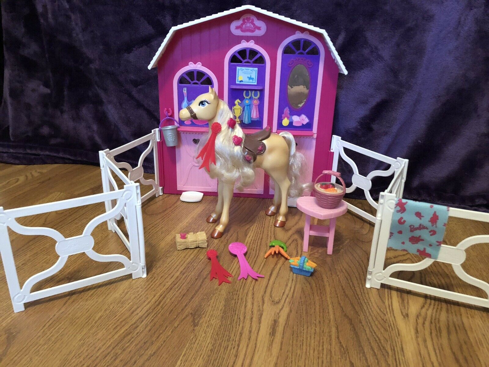 Barbie Stable Playset And Stacie Horse Huge Saving For Sale Ebay