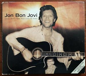 Jon-Bon-Jovi-Janie-Don-t-Take-Your-Love-To-Town-CD-Single-Digipak-Ex