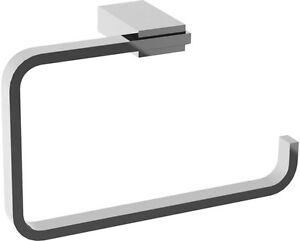 Accessori Bagno Kansas.Dettagli Su Accessori Bagno Porta Asciugamani Ad Anello Per Bidet Kansas Cromo Lucido