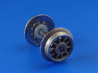 ROCO Radsatz Speichenrad Ø 11 mm geteilte Achse