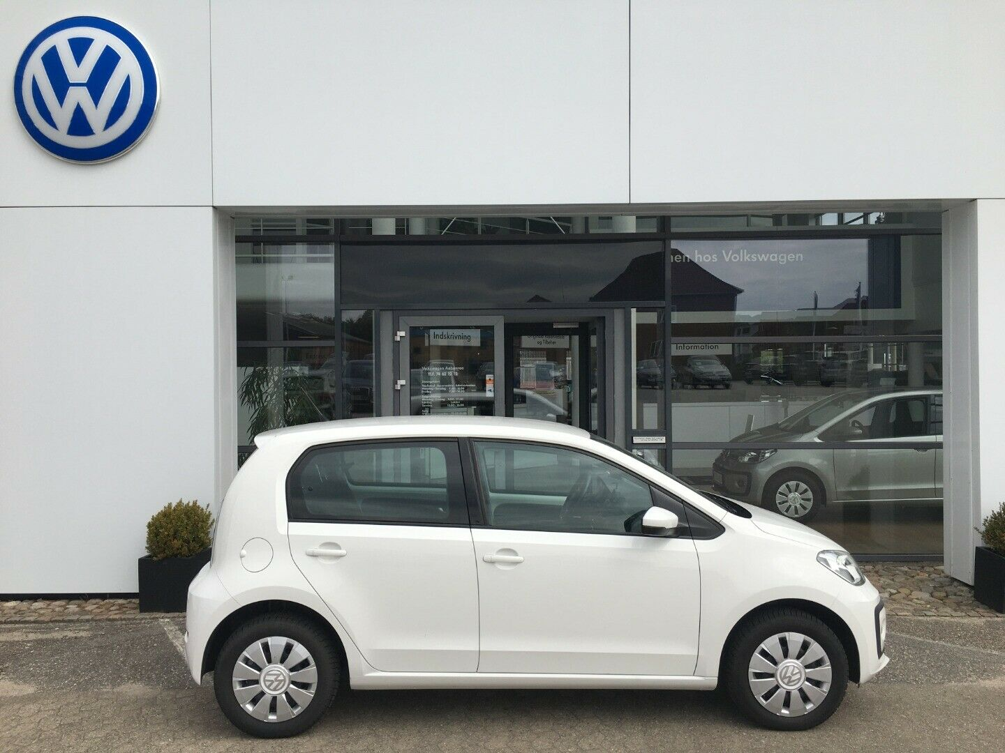 VW Up! 1,0 MPi 60 Move Up! BMT 5d - 79.900 kr.
