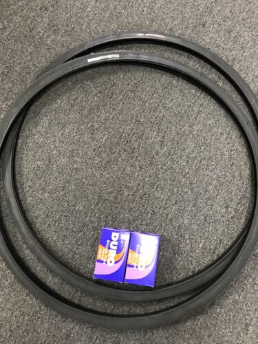 New 2 x Tires /&Tubes Duro 700x25c Puncture Protection Thorn Resistant Bike Tires