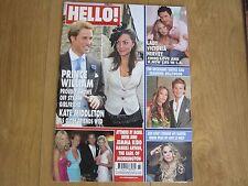 Kate Middleton, Prince William Hello Magazine No 871 June 2005 New.