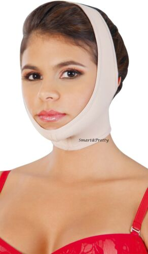 0322 Chin-Neck Bandage Mentonera Post-Quirurgica Facial Fajas Salome Ref