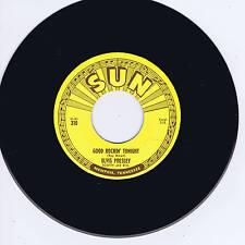 ELVIS PRESLEY - GOOD ROCKIN' TONIGHT - NEW SUN LABEL REPRO IN PICTURE COVER