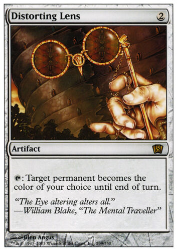 NM MTG Distorting Lens X4 *CCGHouse* Magic 8th Edition
