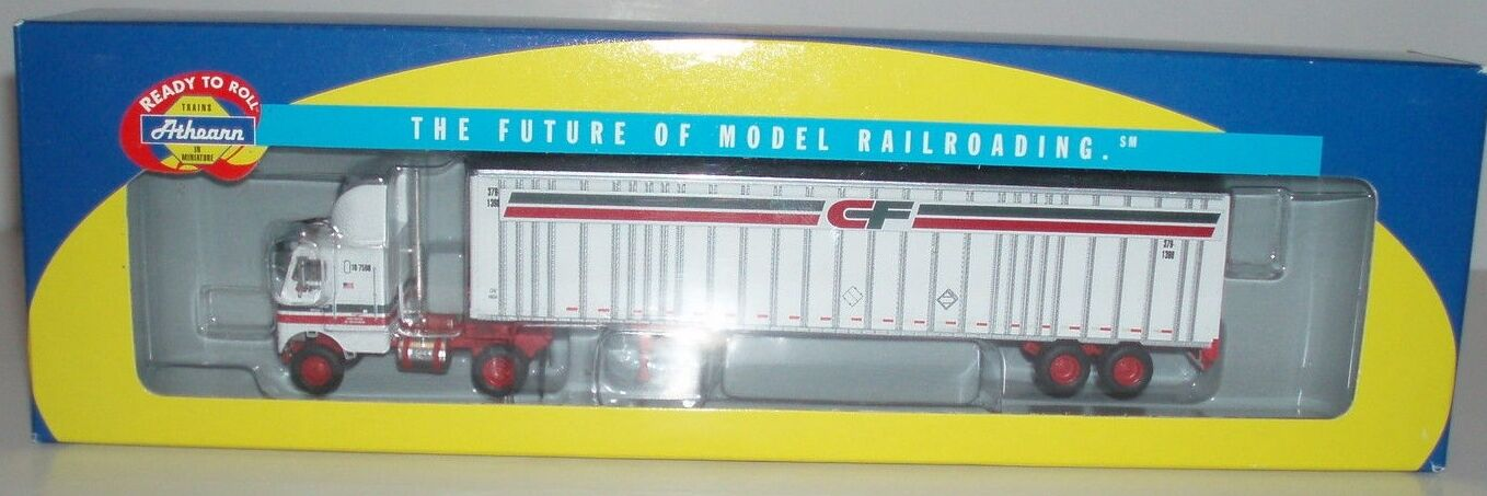 Athearn Consolidated Freightways Freightliner & 48' Trailer nuovo  HO SCALE
